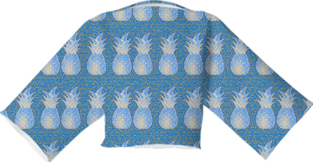 Pineapple Neoprene Block Top