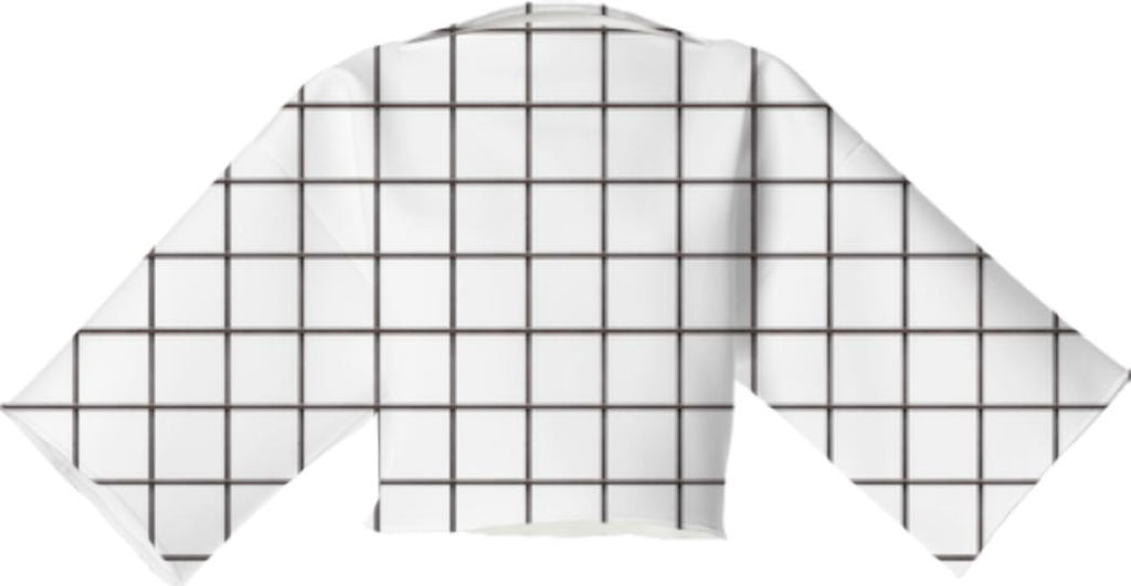 LU WHITE GRID vp neoprene block top