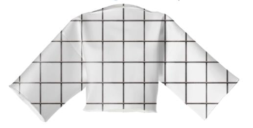 LU COLORBLIND GRID VP NEOPRENE BLOCK TOP