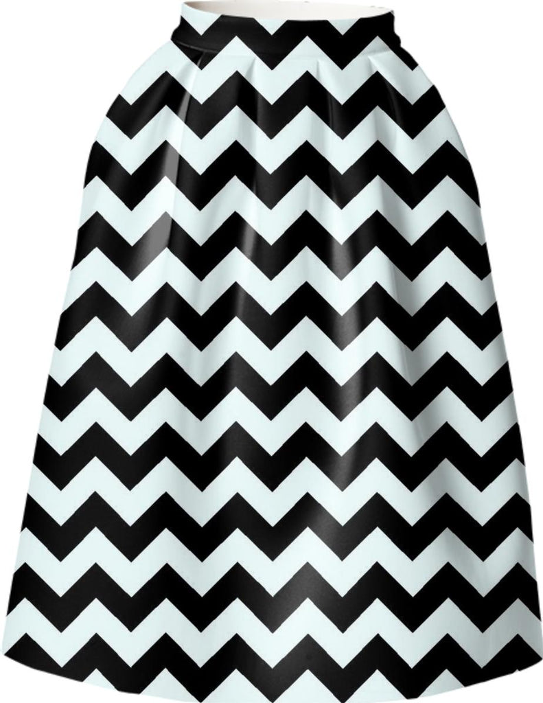 black and white big chevron