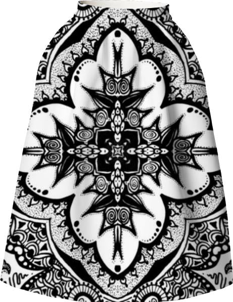 Black and white hippy cross