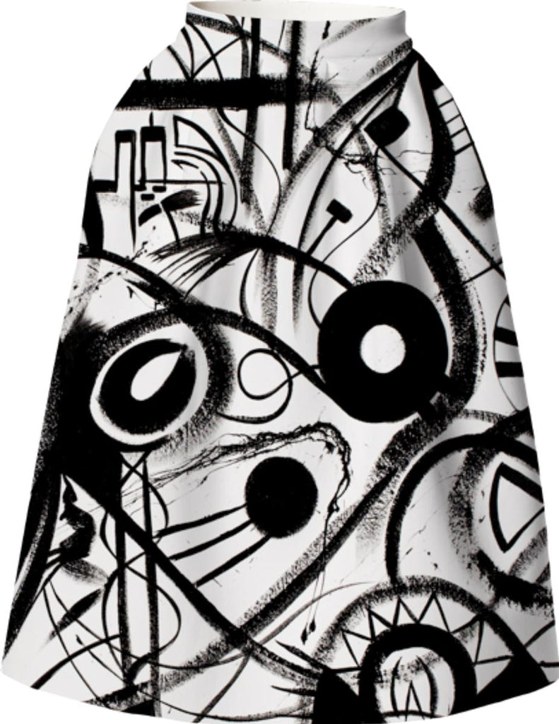 Cascardo Virtuoso Print VP Neoprene full skirt