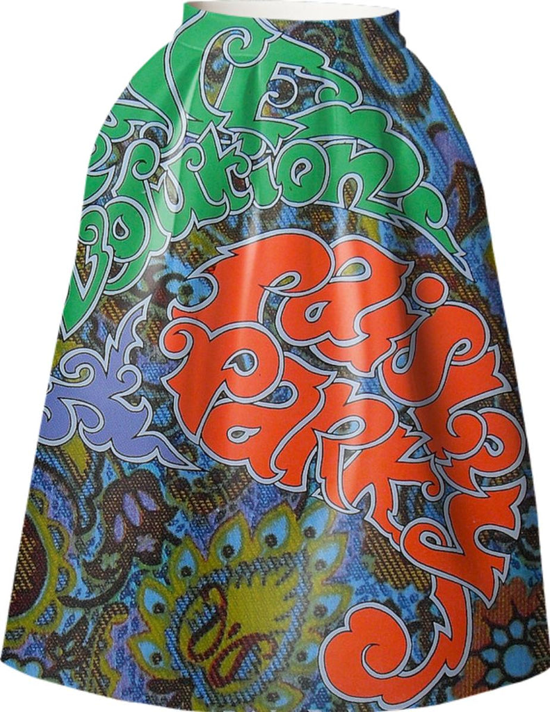 Prince Paisley Park VP Neoprene Full Skirt