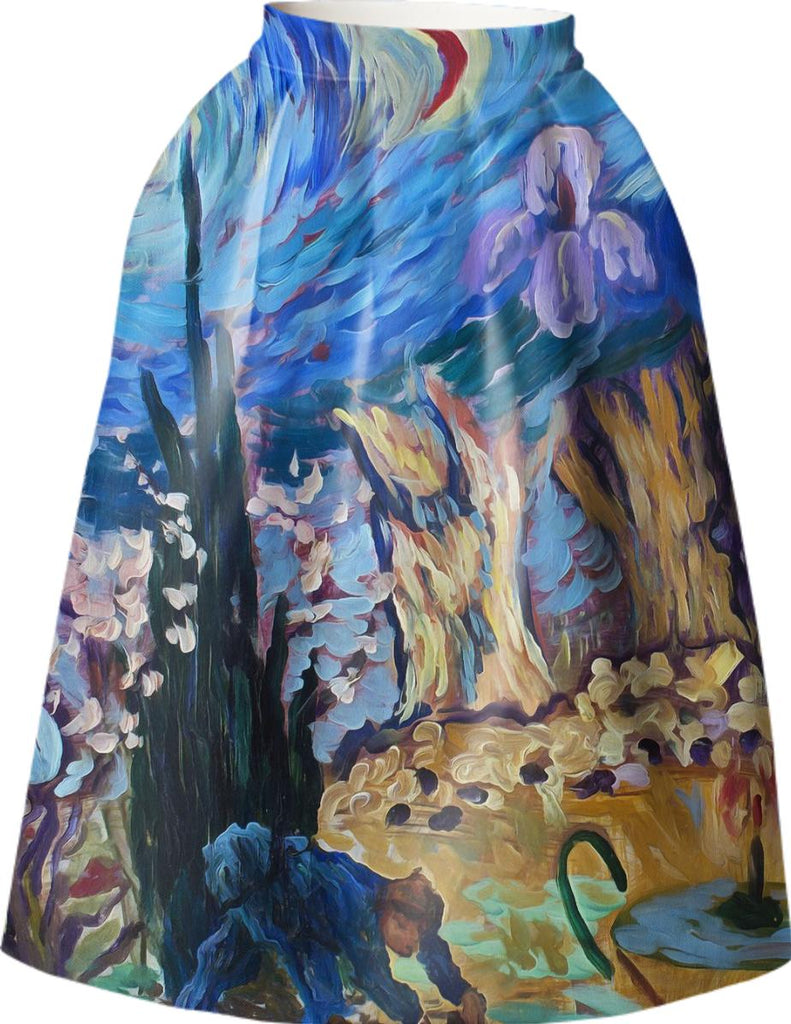 Van Gogh Spirit Full Skirt
