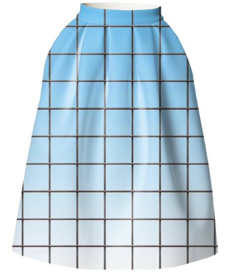 LU CLEAR SKY GRID VP NEOPRENE FULL SKIRT