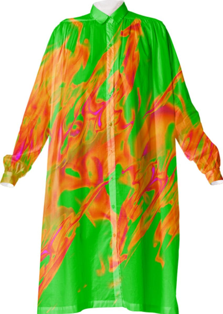 Flaming Rave VP Shirtdress