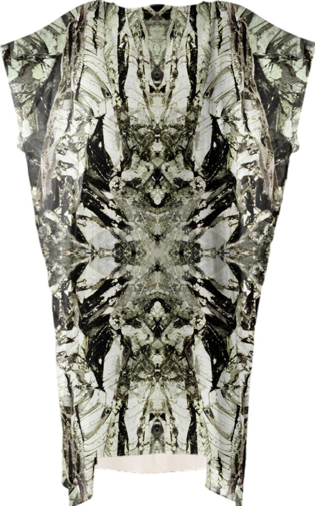 Mineral Acanthite Square Dress