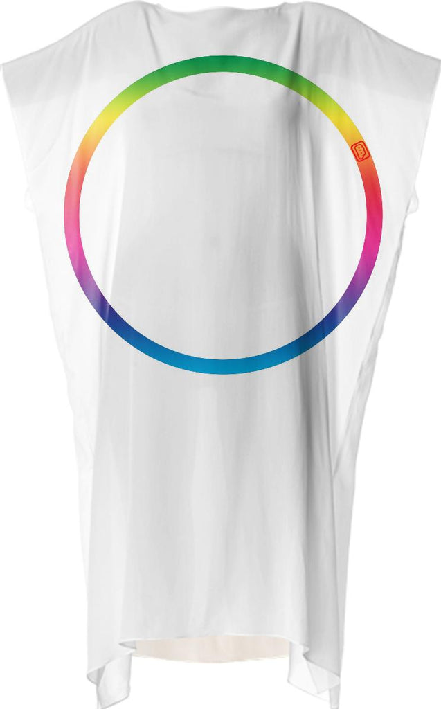 Rainbow Ring Square Dress by Ben Phen