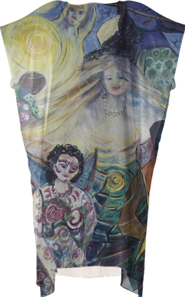 Tattooed Man Square Dress