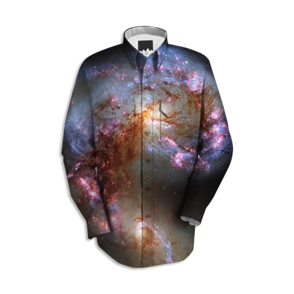 Antennae Galaxy Workshirt
