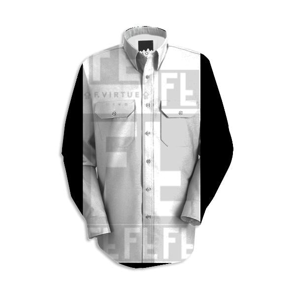 F Virtue Patches Dress Shirt