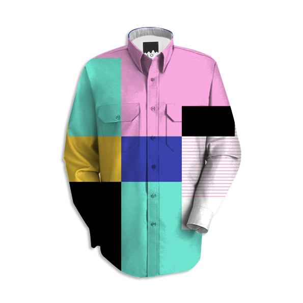 Tile Harmony Work Shirt