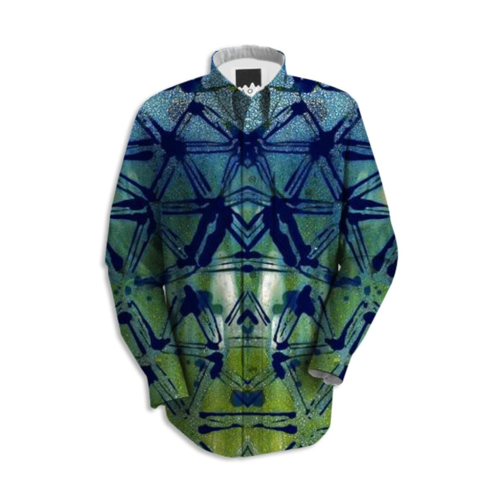 triangle chemgram buttonup