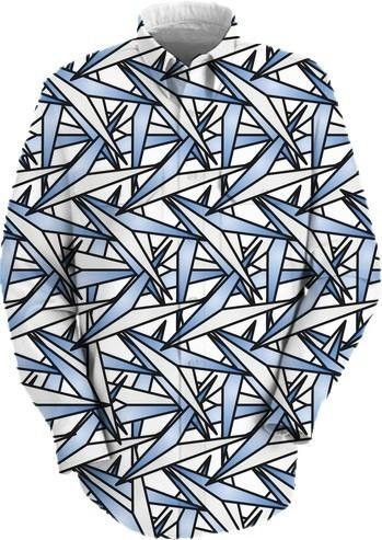 Paper Airplanes Abstract Art Shirt