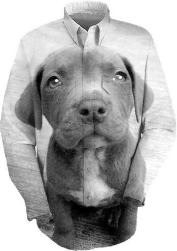 Pitbull puppy dog design