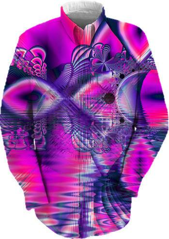 Rose Crystal Palace Abstract Fractal Love Dream
