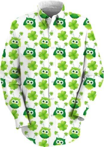 St Patrick s Day Owls