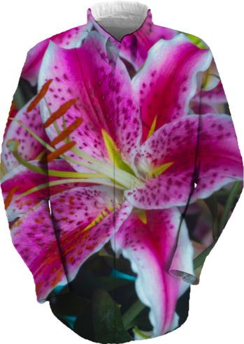 Stargazer Lillies Pink Magenta Magic