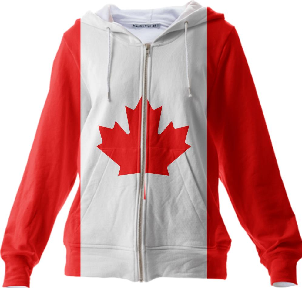 Canadian Flag Paom