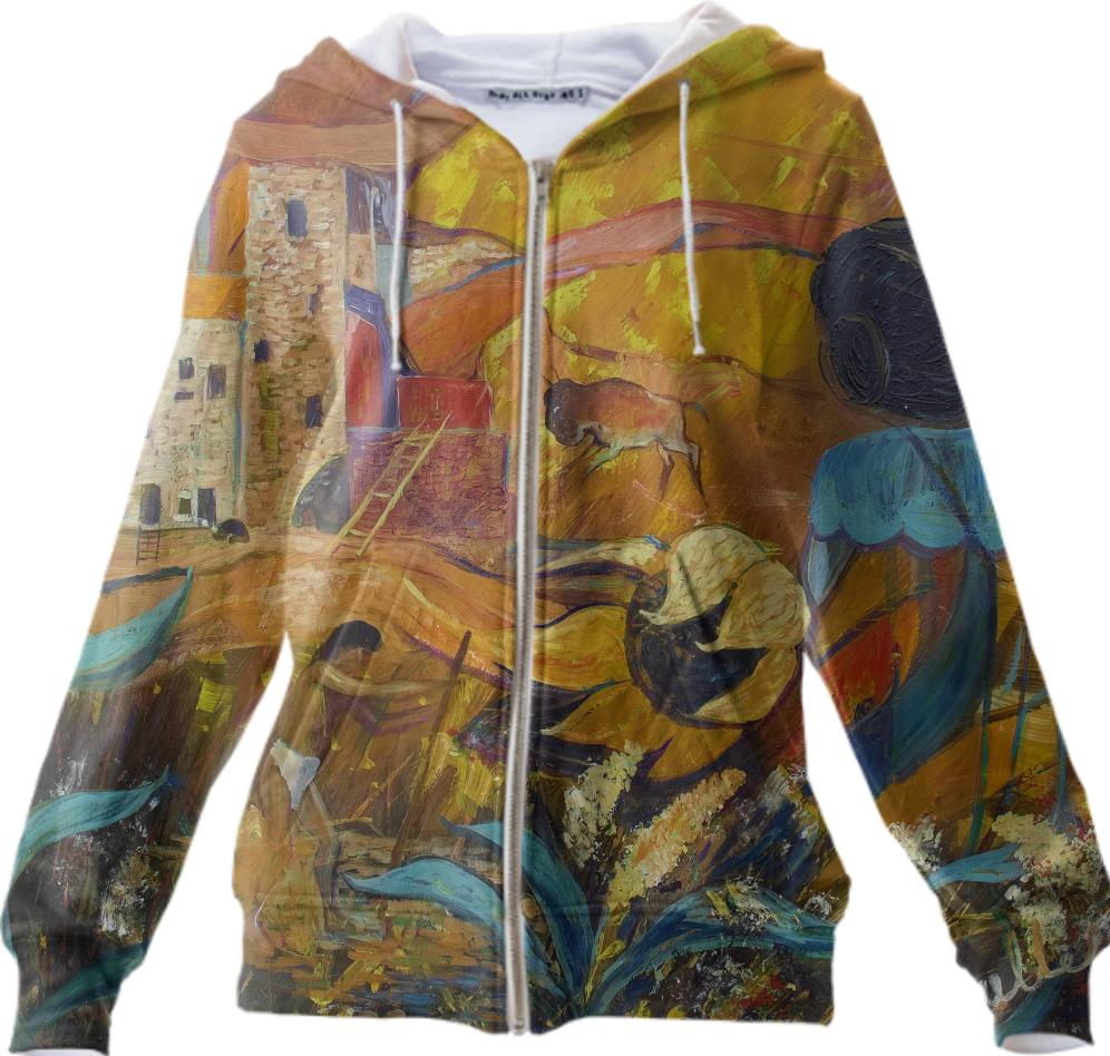 Cliff Dwellers Hoddie