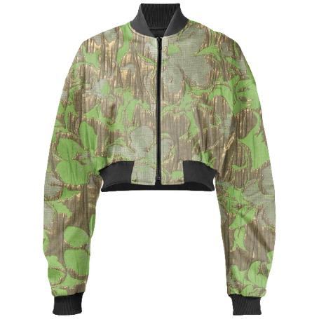 Gabriel Held Cropped Bomber Jacket