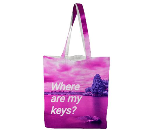 Where Are My Keys Tote