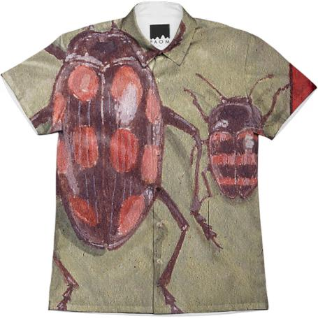 David Beck Bug Book Workshirt 42