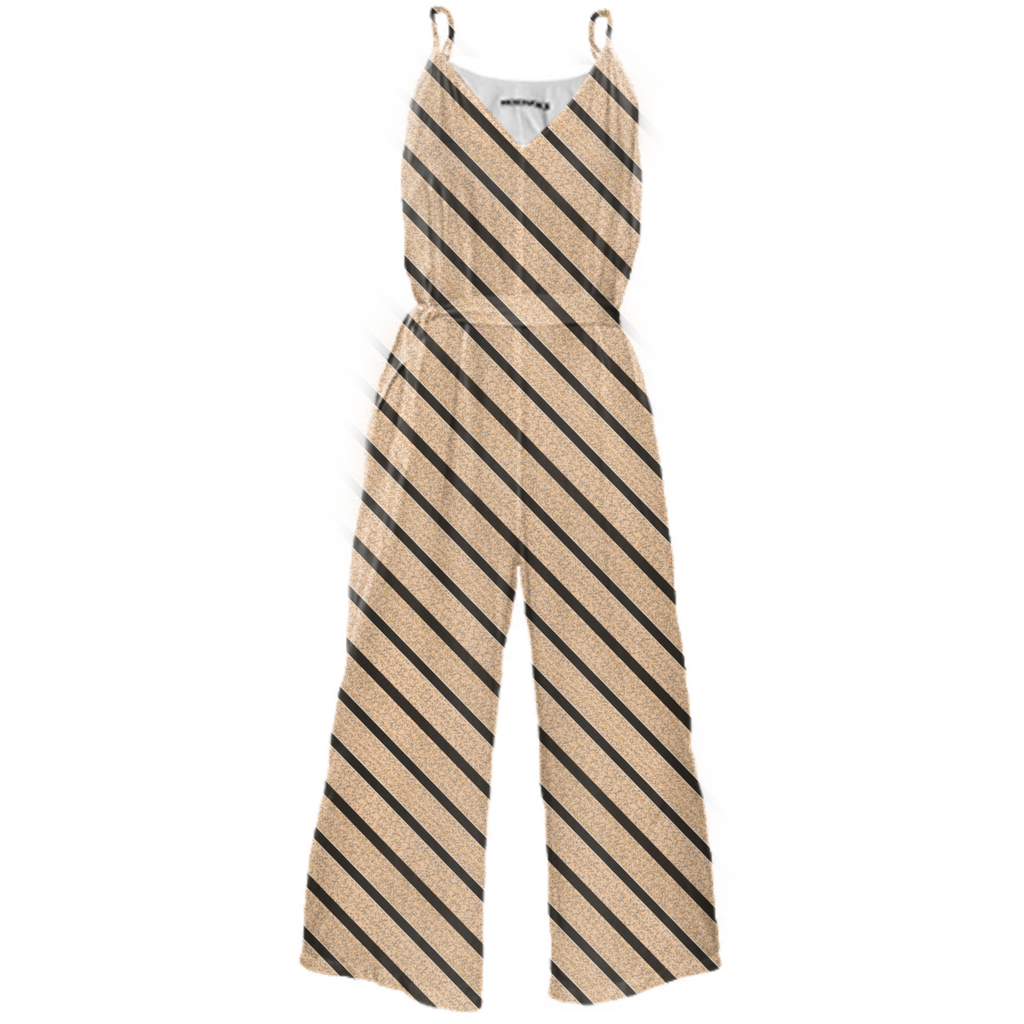 Cougar Tie Waited Jumpsuit