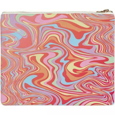 PAOM, Print All Over Me, digital print, design, fashion, style, collaboration, paomcollabs, Clutch, Clutch, Clutch, Reb, marble, autumn winter spring summer, unisex, Poly, Bags