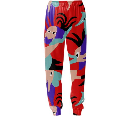 Bird of Paradise Sweat Pant