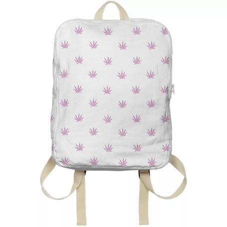 Weed Leaf Backpack