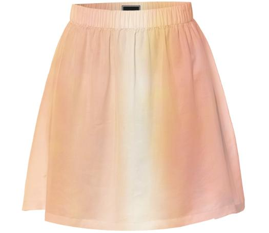 Apricot And Melon Skirt