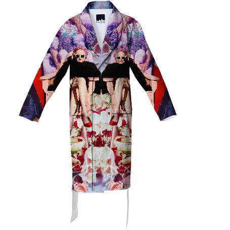PAOM, Print All Over Me, digital print, design, fashion, style, collaboration, slather-factory, slather factory, Cotton Robe, Cotton-Robe, CottonRobe, Betty, Glam, autumn winter spring summer, unisex, Cotton, Home
