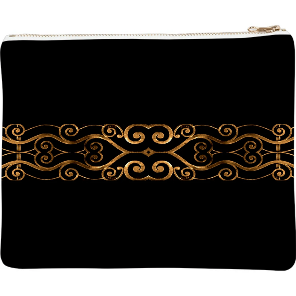 Luxury Ornate Minimal Style Dark Print