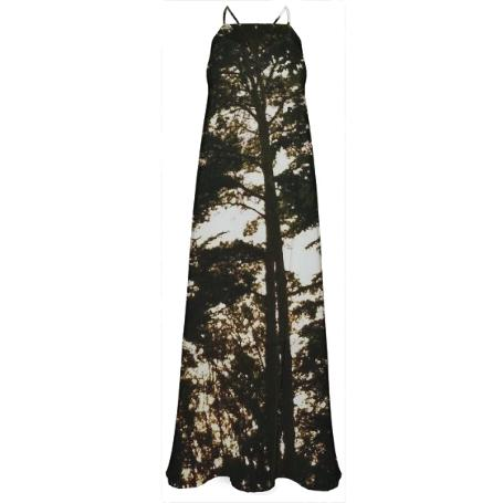 Trees at Dusk Maxi Dress