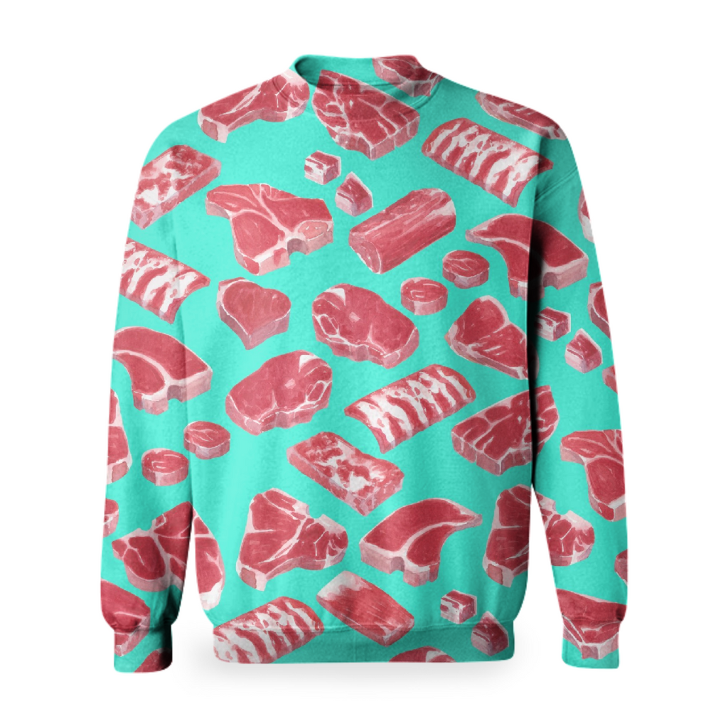 Meat Market basic sweatshirt by Frank-Joseph
