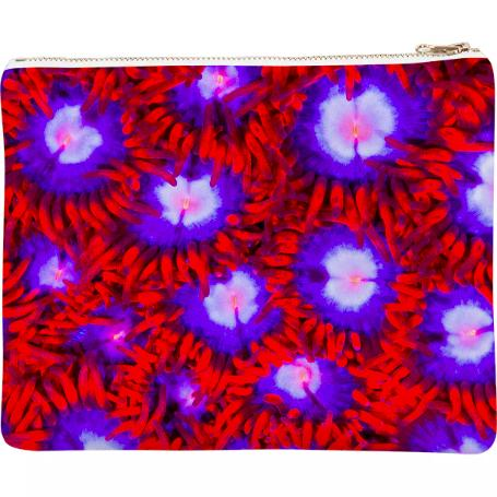 PAOM, Print All Over Me, digital print, design, fashion, style, collaboration, coral-morphologic, coral morphologic, Neoprene Clutch, Neoprene-Clutch, NeopreneClutch, Zoa, autumn winter spring summer, unisex, Neoprene, Bags