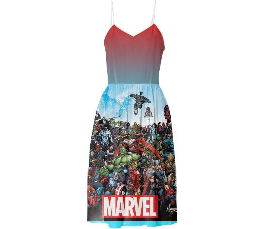 marvel dress