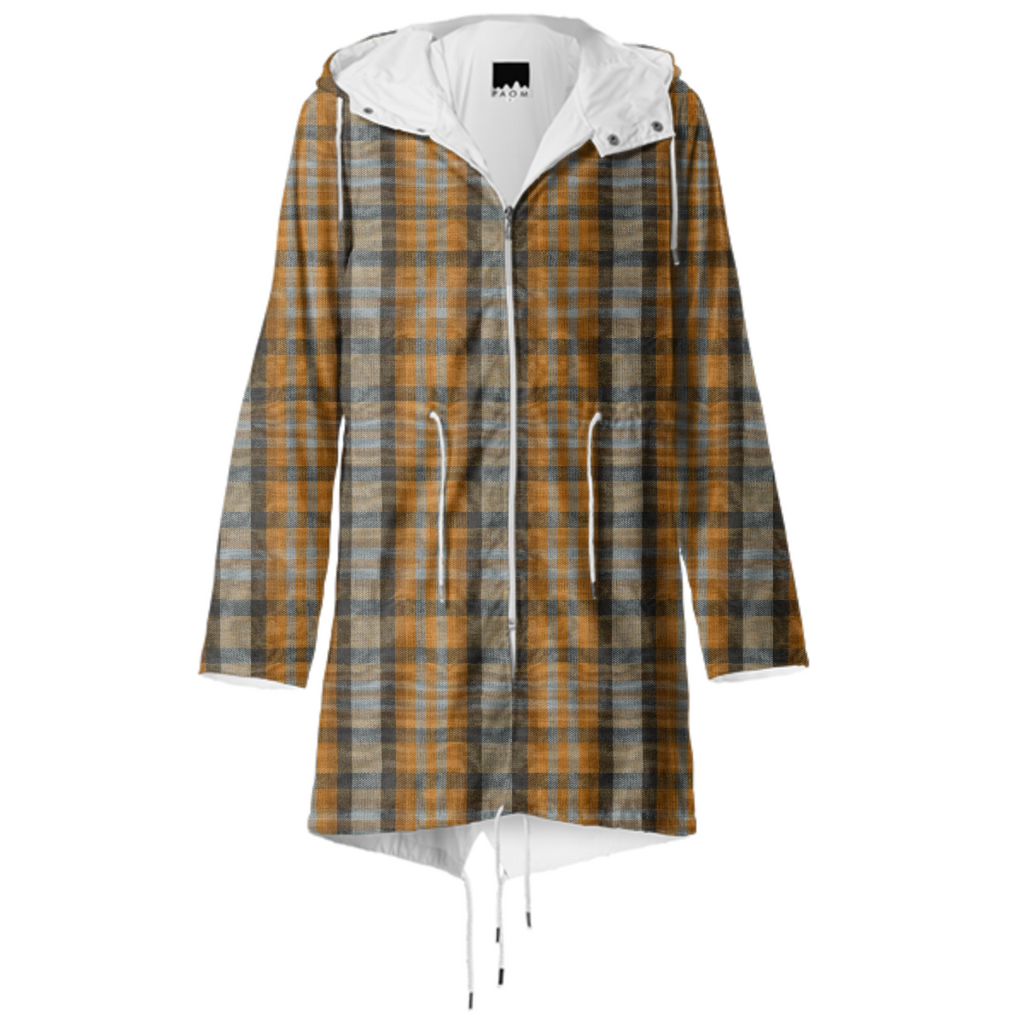 Princeton 1986 Plaid Raincoat