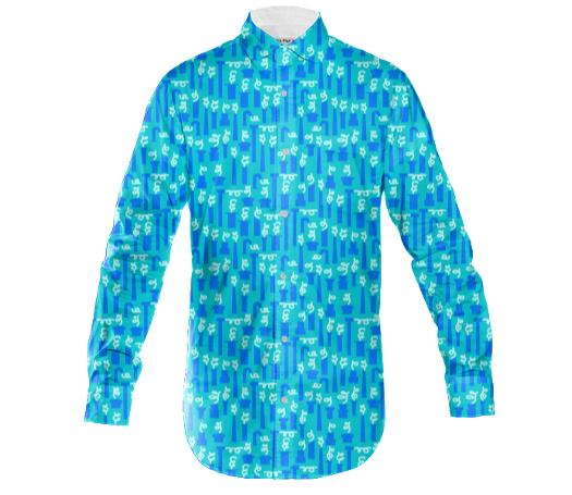 OTTO the long sleeved shirt blue