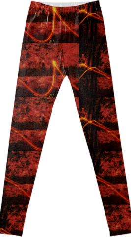 Fancy Leggings By GinSey Art Design