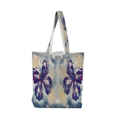 two butterflies tote