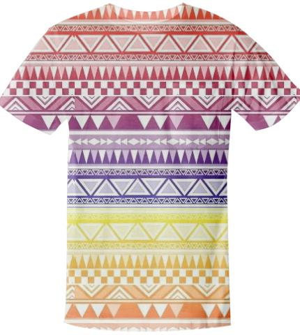 Colorful Tribal T Shirt