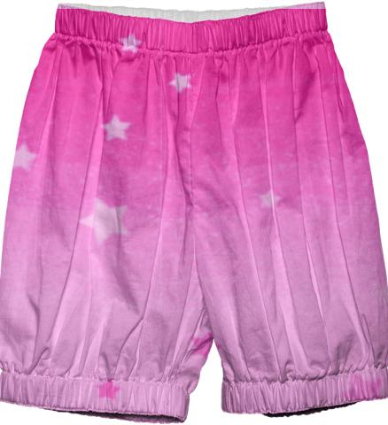 pink stars bloomers