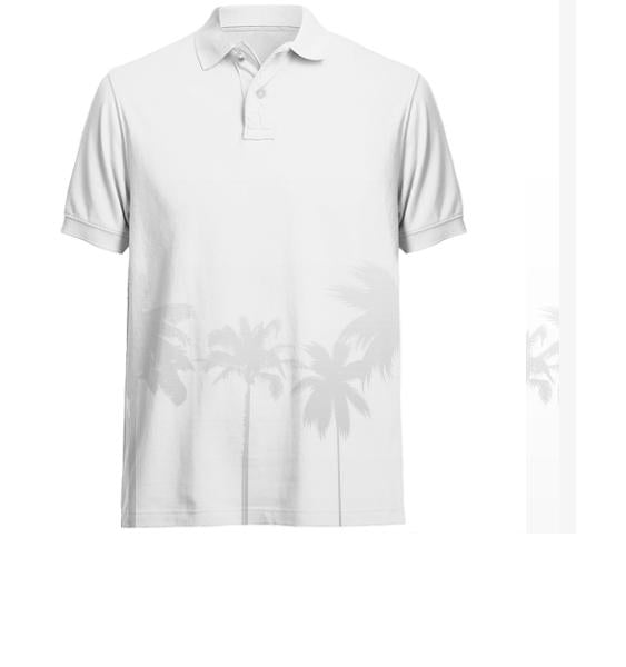 WCPB White golf shirt