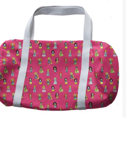 Princesses Duffle Bag