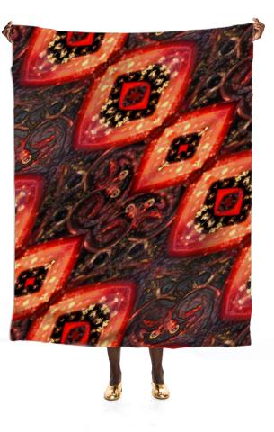 Eyes 8 Silk Scarf