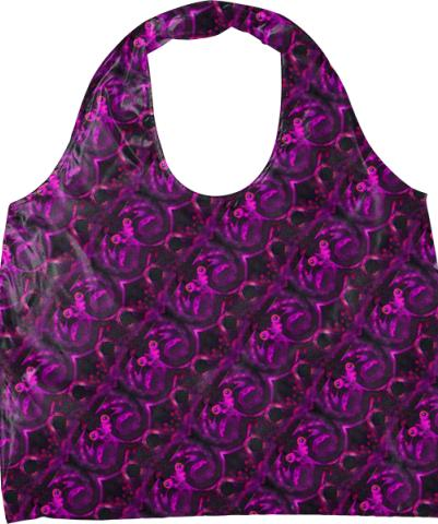 Eyes 10 Purple Pattern Eco Tote