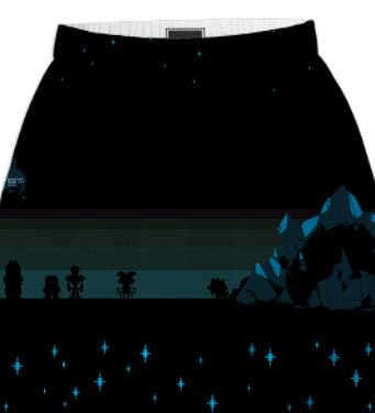 Undertale Skirt
