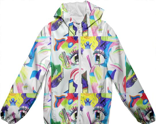 Compoze the Eyez Kids Raincoat